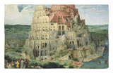 The Tower of Babel, c.1563 Rug by Pieter Bruegel the Elder