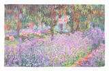 The Artist's Garden at Giverny, 1900 Rug by Claude Monet