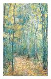 Sous-Bois, 1876 Alfombrilla por Claude Monet