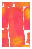 Saturated Blocks I Alfombrilla por Renee W. Stramel