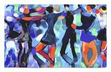 Joyful Dance Rug by Diana Ong
