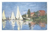 Regatta at Argenteuil Rug by Claude Monet
