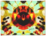 Bloom and Grow II Fleece Blanket by Amy Lighthall