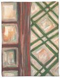 Textured Windows II Fleece Blanket by Karen Deans