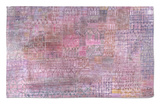 Cathedrals; Kathedralen Rug by Paul Klee