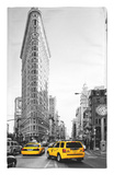 Flatiron Building - Taxi Cabs Yellow - Manhattan - New York City - United States Rug by Philippe Hugonnard