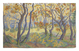 Edge of the Forest Rug by Paul Ranson