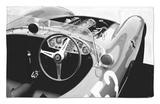 Ferrari Cockpit Alfombrilla por NaxArt