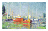 Argenteuil, circa 1872-5 Rug by Claude Monet