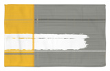 Grey and Yellow Rug by  NaxArt