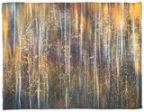 An Autumn Song Fleece Blanket by Ursula Abresch