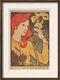 Salon Des Cent, 1894 Framed Giclee Print by Eugene Grasset