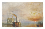 The Temeraire Towed to Her Last Berth (AKA The Fighting Temraire) Rug by J. M. W. Turner