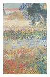 Garden in Bloom, Arles, c.1888 Rug by Vincent van Gogh