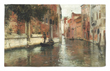 A Venetian Backwater Rug by Fritz Thaulow