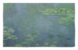 Waterlilies Rug by Claude Monet