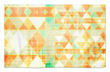Citrus Geometry I Rug by Amy Lighthall