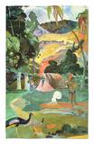 Matamoe Or, Landscape with Peacocks, 1892 Rug by Paul Gauguin