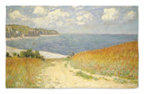 Path in the Wheat at Pourville, 1882 Rug by Claude Monet