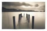Bahía de Barrow, Derwent Water, Distrito de los Lagos, Cumbria, Inglaterra Alfombrilla por Gavin Hellier