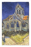 The Church in Auvers-Sur-Oise, c.1890 Rug by Vincent van Gogh