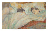 The Bed (Le Lit), 1892 Rug by Henri de Toulouse-Lautrec