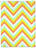 Summer Pattern II Fleece Blanket by Amy Lighthall