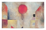 Red Balloon, 1922 Rug by Paul Klee