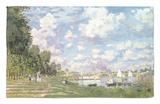 La Marina en Argenteuil, 1872 Alfombrilla por Claude Monet