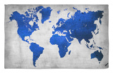 World Map 10 Alfombrilla por NaxArt