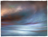 Storm Fleece Blanket by Ursula Abresch