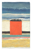 Red House, 1932 Rug by Kasimir Malevich