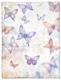 In Flight II Fleece Blanket by Tim O'toole