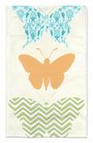 Butterfly Patterns IV Alfombrilla por Erica J. Vess