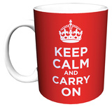 Keep Calm and Carry On Mug Mug