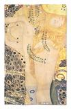 Serpientes acuáticas I, c.1907 Alfombrilla por Gustav Klimt