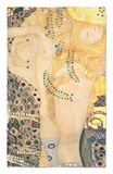 Water Serpents I, c.1907 Rug by Gustav Klimt