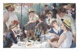 Almuerzo de remeros Alfombrilla por Pierre-Auguste Renoir