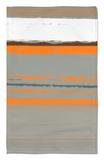 Naranja abstracto 2 Alfombrilla por NaxArt