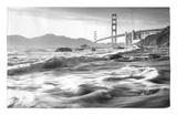 California, San Francisco, Golden Gate Bridge from Marshall Beach, USA Rug by Alan Copson