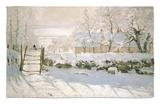 La urraca, 1869 Alfombrilla por Claude Monet