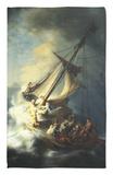The Storm on the Sea of Galilee Alfombrilla por Rembrandt van Rijn