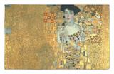 Portrait of Adele Bloch-Bauer I., 1907 Alfombrilla por Gustav Klimt