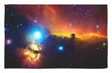 Alnitak, Constelación de Orión (Nebulosa de la Flama NGC2024, Nebulosa cabeza de caballo IC434) Alfombrilla por Stocktrek Images