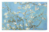 Almond Branches in Bloom, San Remy, c.1890 Rug by Vincent van Gogh