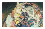 La doncella, 1913 Alfombrilla por Gustav Klimt