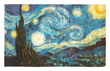 Starry Night, c.1889 Rug by Vincent van Gogh