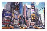 Times Square, New York City, USA Rug by Doug Pearson