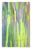 Rainbow Eucalyptus Trunk Near Hana, Maui, Hawaii, Usa Alfombrilla por Rob Tilley