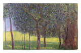 Fruit Trees, 1901 Alfombrilla por Gustav Klimt